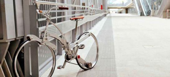 スポークレス自転車