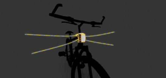 自転車用のヒゲ「VibriSee」