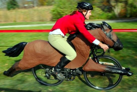 乗馬風自転車