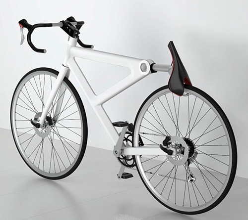 Saddle Lock Bicycle Concept