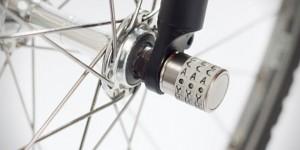 ホイール、サドル、ハンドルなど 高級自転車パーツの盗難防止にダイヤル付きロック「SPHYKE C3N BIKE LOCK」