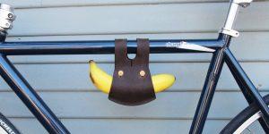 補給食にこだわりてぇ!自転車用バナナホルダー
