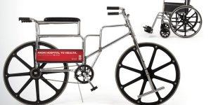 車椅子を自転車へ改造!病気から健康へ