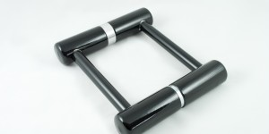 コンパクトに分解できるU字ロック「Vier Lock」