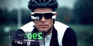 サイコンがサングラスに合体!?自転車乗りにピッタリのスマートグラス「Recon Jet」