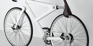 サドルで瞬時に自転車をロック!「Saddle Lock Bicycle」