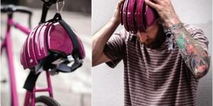 """気軽に持ち歩ける折りたたみ式ヘルメット「Foldable Helmet """"Citly"""" by CARRERA」"""